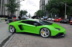 Liberty Walk Lamborghini Aventador in Downtown Edmonton