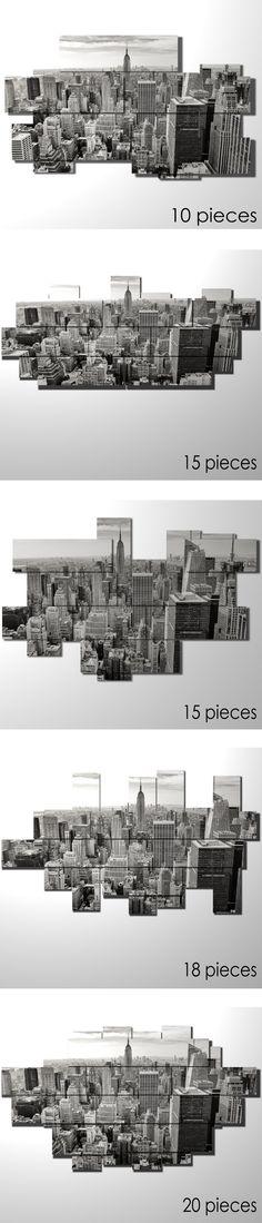 You can choose your favorite size and template.  #quadri #quadri3D #design #wallart #multipanel #customize
