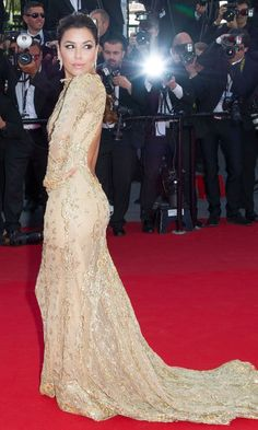 Eva Longoria At The Premiere Of 'The Past' At Cannes Film Festival, 2013