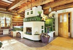 Beautiful tilestove