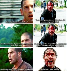 Shane and Rick - TWD