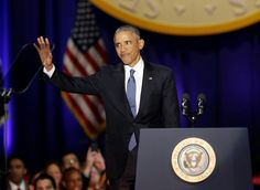 Obama warns of democratic test, 'we rise or fall as one'