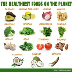 15 Healthiest food on the planet