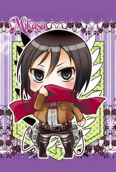 Shingeki no Kyojin -Mikasa by moonu17 on deviantART