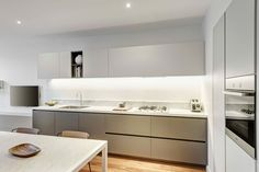 Construction & Interiors / Fitzroy Residence / Poliform Kitchen / Carrara Marble