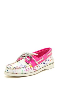 Milly for Sperry Top-Sider A-O Printed Boat Shoe by Sperry Top-Sider on @HauteLook