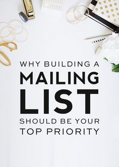 why-your-mailing-list-should-be-your-top-priority