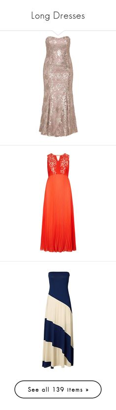 """""""Long Dresses"""" by carlou863 ❤ liked on Polyvore featuring plus size women's fashion, plus size clothing, plus size dresses, plus size gowns, dresses, gowns, plus size, plus size ball gowns, pink sequined dresses and floral print gowns"""