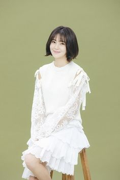 """After completing her latest drama, """"Jugglers"""" (with Daniel Cho), Baek Jin Hee says she doesn't know how to relax and she wants to do more volunteer work in Check it out! Baek Jin Hee, Korean Actresses, Kimchi, Korean Fashion, Ruffle Blouse, Photoshoot, Asian, Actors, Volunteer Work"""