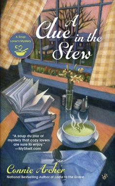 A Clue in the Stew, the fifth book in the Soup Lover's Mystery series is available for pre-order!  http://amzn.to/1hjKATF