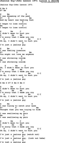 Song Lyrics with guitar chords for Imagine - John Lennon ...
