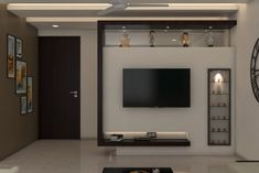 Tv Cupboard Design, Tv Cabinet Design Modern, Tv Unit Interior Design, Tv Unit Furniture Design, Modern Tv Wall Units, Hall Room Design, Tv Wall Design, Tv Showcase Design, Lcd Panel Design