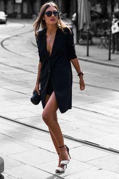 Black. Street style. Fashion.