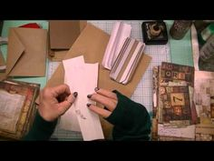 I've gotten a lot of requests to share how I put together my mini albums. I realize there hundreds of tutorials out there on how to create mini albums. Howev...