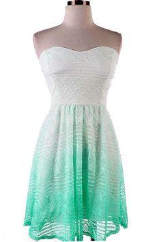 Cute Ombre Dress