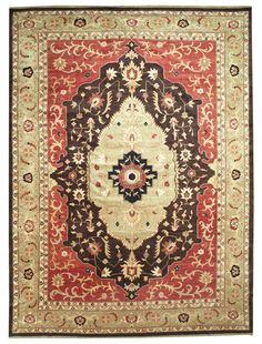 This beautiful Handmade Knotted Rectangular rug is approximately 10 x 13 New Contemporary area rug from our large collection of handmade area rugs with Persian Tabriz style from China with Wool
