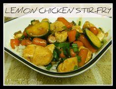 momstestkitchen: Lemon Chicken Stir-Fry