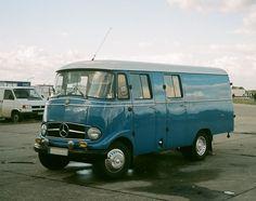 vintage Mercedes truck