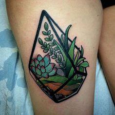 Tattoosday :: Succulents