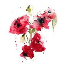 """Saatchi Art Artist Annemiek Groenhout; Painting, """"summerkisses"""" #art"""