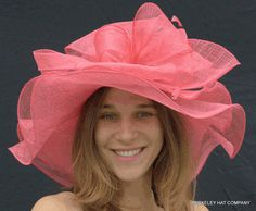 Spring Sinamay Hat, soft