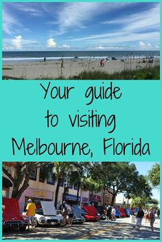 Melbourne is a fun and funky little town to visit in the midst of Florida's East Coast.