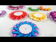 Learn how to make an origami ring box with a hinge lid, great for Valentine's Day! Use it to give a real jewellery gift or make an origami ring to fit! Envelope Origami, Instruções Origami, Origami Paper Folding, Origami And Kirigami, Origami Bookmark, Paper Crafts Origami, Origami Stars, Origami Flowers, Origami Instructions
