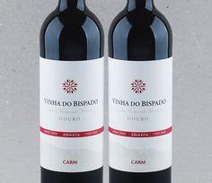 Um corte de três uvas de um mesmo terroir:  Vinha do Bispado Tinto #vinho #tintaroriz #tourigafranca #touriganacional #douro