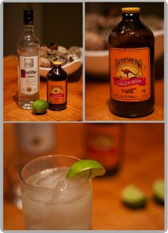 fall drink - moscow mule! see source for mix