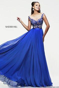 Sherri Hill Prom Dress 11151 at Peaches Boutique