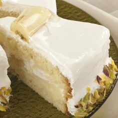 This frosted banana cake recipe will make you swoon.. Frosted Banana Cake Recipe from Grandmothers Kitchen.