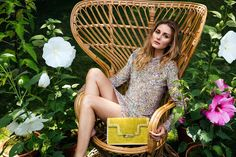 The Olivia Palermo Lookbook : Olivia Palermo in the Aerin Lauder resort 2017 campaign.