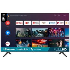 Hisense 43H5510G 43-Inch LED Full HD Smart Android TV $179.99 (40% off) @ Best Buy Netflix Tv, Electronic Deals, Cool Things To Buy, Stuff To Buy, Smart Tv, Android, Led, Electronics, Accessories