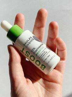 Niacinamide (vitamin B3) works with the natural substances in your skin to: ✔️Help visibly minimize enlarged pores ✔️Improve uneven skin tone ✔️Soften fine lines and wrinkles ✔️Diminish dullness ✔️Strengthen a weakened surface Shop 10% Niacinamide Booster at Paula's Choice. Vitamin B3, Minimize Pores, Uneven Skin Tone, Serum, Choices, Paula's Choice, Moisturizer, Surface, Natural