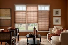 Add luxurious look to your place with trendy shades blinds design - CareHomeDecor Window Treatments, Pleated Window Shades, Shades Blinds, Window Design, Windows, Pleated Shade, Home Decor, Custom Windows, Bali Blinds