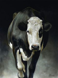FOR SALE Sienefien the Cow, 32 x 24 inch (80 x 60 cm) © 2013 Klimas