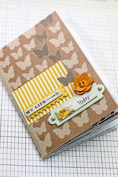note! use the negative part of a sticker sheet! by megan klauer with the mercantile papercrafting kit
