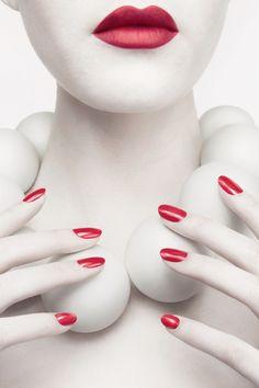 Revlon  ColorStay Nail Enamel Campaign by Digital Light Ltd , via Behance