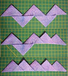 Quilting Projects, Sewing Projects, Sewing Hacks, Seminole Patchwork, Quilt Blocks Easy, Prairie Points, Scrap Material, Quilt Border, Quilt Binding