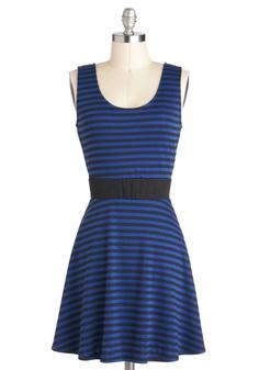 $47.99 Lunch Update Dress | Mod Retro Vintage Dresses | ModCloth.com plunging V-back dress