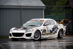 Mazda RX-8 Tuning Drift Car #dublinmazda #mazda #rx8  http://www.turrifftyres.co.uk