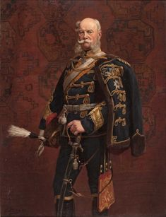 Kaiser Wilhelm I in hussar uniform