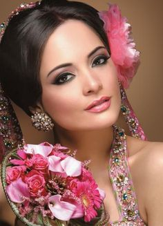 modern asian bridal look by Ambreen