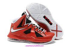 size 40 50be4 ee358 Lebron 10 Lebron James Shoes 2013 Varsity Red Black White Medal Lebron 11, Nike  Lebron