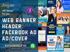 design web banner, header, ad, cover in 12 hours by anjanpaul