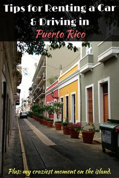 Tips & tricks for driving in Puerto Rico. What you should know before you rent a car. Plus, my craziest moment on the island.