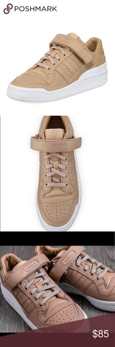 f31a59285b92 Adidas Forum Low Top nude sneakers NEW Never worn. Size 7.5. Fits like an