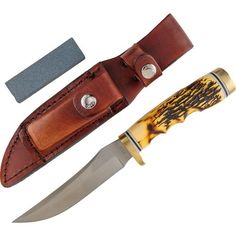 Image for Uncle Henry Golden Spike Fixed Knife from Academy