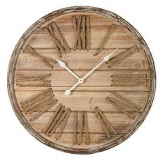 Fantastisch Große Wanduhr Holz, Deko Wanduhr, Holz Wanduhr, Wanduhr Gross, Vintage  Wanduhr