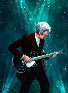 The 12th Doctor - ''Rock On'' by luluha (deviantART) -- Doctor Who.S09E01 - ''The Magician's Apprentice''    (doctorwhotv - Photo Gallery: ''Weird and Wonderful'') (Doctor Who - BBC Series)  source: http://luluha.deviantart.com/art/Rock-On-539462806 Featured in: doctorwhotv Photo Gallery - ''Weird and Wonderful'' link: http://www.doctorwhotv.co.uk/weird-and-wonderful-72-74275.htm